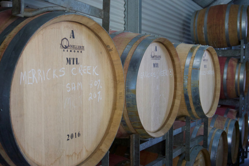 Merricks barrels