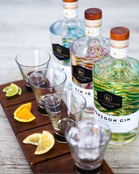 Bass & Flinders Gin tasting